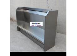 不锈钢小便池北京厂家设计制作红外感应式不锈钢小便池