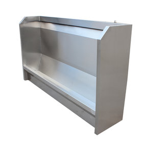 立式不锈钢小便池(能定做)