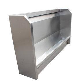 立式不锈钢小便槽(能定做)